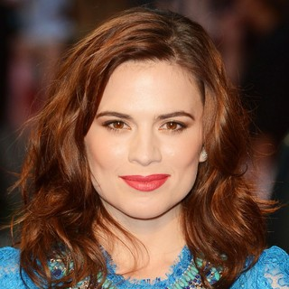 Hayley Atwell in The Sweeney UK Film Premiere - Arrivals - hayley-atwell-uk-premiere-the-sweeney-01