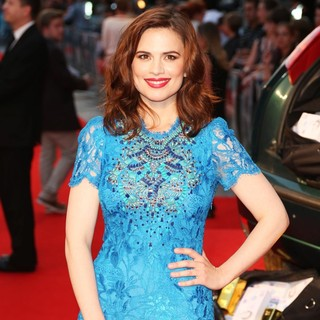 Hayley Atwell in The Sweeney UK Film Premiere - Arrivals - hayley-atwell-uk-premiere-the-sweeney-04