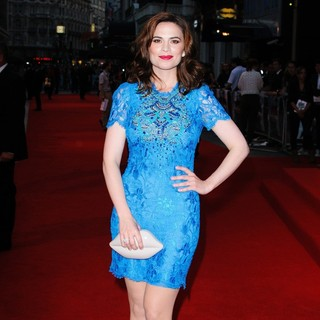 Hayley Atwell in The Sweeney UK Film Premiere - Arrivals