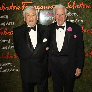 Fred Hayman, Jerry Magnin in Opening Night Gala of The Wallis Annenberg Center for The Performing Arts