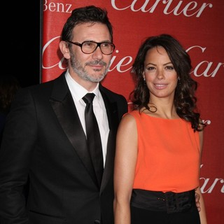 Michel Hazanavicius, Berenice Bejo in The 23rd Annual Palm Springs International Film Festival Awards Gala - Arrivals