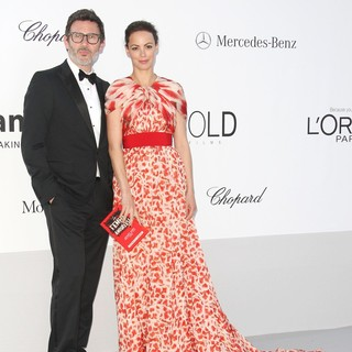 Michel Hazanavicius, Berenice Bejo in AmfAR's Cinema Against AIDS Gala 2012 - During The 65th Annual Cannes Film Festival