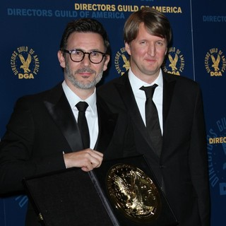 Michel Hazanavicius, Tom Hooper in 64th Annual Directors Guild of America Awards - Press Room