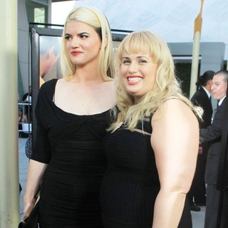 Leslye Headland, Rebel Wilson in The Premiere of RADiUS-TWC's Bachelorette