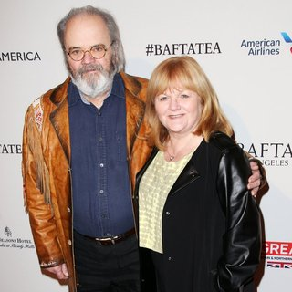 David Keith Heald, Lesley Nicol in 2016 BAFTA Los Angeles Awards Season Tea - Arrivals