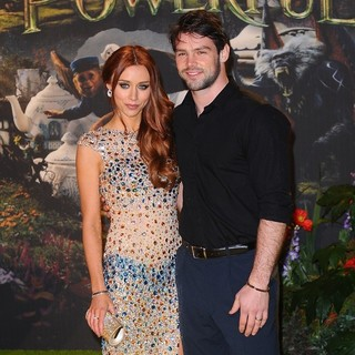 Una Healy, Ben Foden in U.K. Premiere of Oz: The Great and Powerful - Arrivals