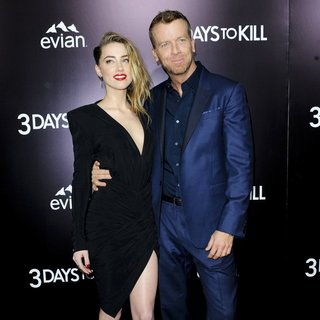 Amber Heard, McG in 3 Days to Kill Premiere - Red Carpet Arrivals