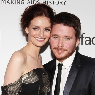 Lydia Hearst, Kevin Connolly in 2013 amfAR Inspiration Gala Los Angeles Presented by MAC Viva Glam