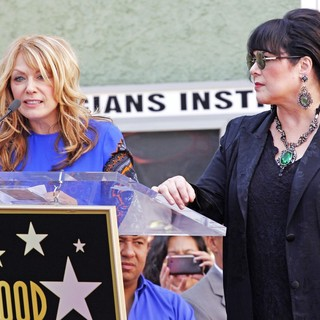 Nancy Wilson, Ann Wilson, Heart in Heart Is Honored with A Hollywood Star on The Hollywood Walk of Fame