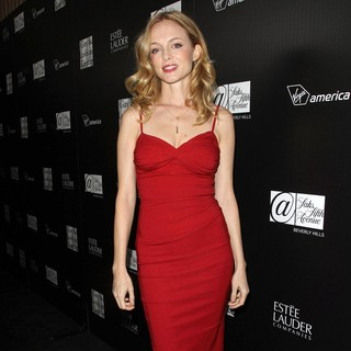 Heather Graham in The L.A. Gay and Lesbian Center's An Evening Benefiting Homeless Youth Services