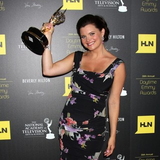 Heather Tom in 39th Daytime Emmy Awards - Press Room