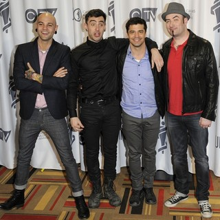 Hedley in 2012 JUNO Awards - Press Room