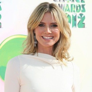 Heidi Klum in 2012 Kids' Choice Awards - Arrivals
