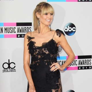 Heidi Klum in 2013 American Music Awards - Arrivals