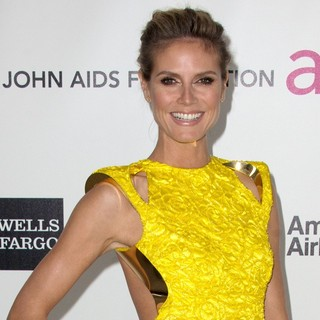 Heidi Klum in The 20th Annual Elton John AIDS Foundation's Oscar Viewing Party - Arrivals