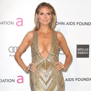 Heidi Klum in 21st Annual Elton John AIDS Foundation's Oscar Viewing Party