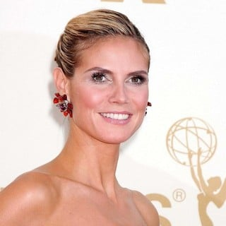 Heidi Klum in The 63rd Primetime Emmy Awards - Arrivals