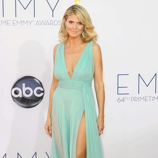 Heidi Klum in 64th Annual Primetime Emmy Awards - Arrivals