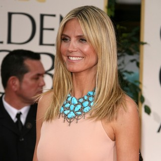 Heidi Klum in The 69th Annual Golden Globe Awards - Arrivals
