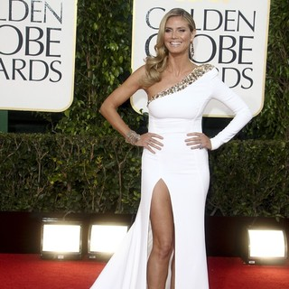 Heidi Klum in 70th Annual Golden Globe Awards - Arrivals