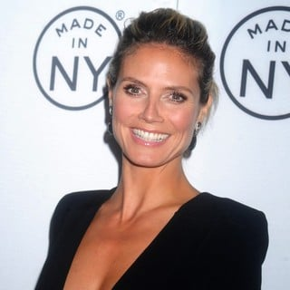 Heidi Klum in The 8th Annual Made in NY Awards