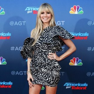 Heidi Klum in America's Got Talent Season 15 Kickoff - Red Carpet