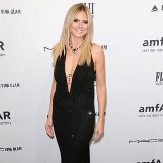 Heidi Klum in The amfAR Gala 2013