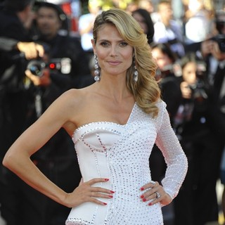 Heidi Klum in 66th Cannes Film Festival - Nebraska Premiere
