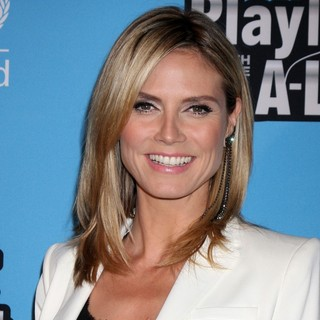 Heidi Klum in NICEF Playlist with The A-List - Arrivals