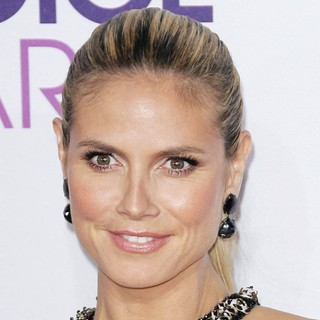Heidi Klum - People's Choice Awards 2013 - Red Carpet Arrivals