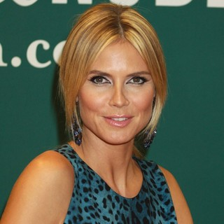 Heidi Klum - Heidi Klum Promotes Her Book Project Runway: The Show That Changed Fashion