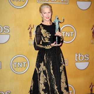 Helen Mirren in The 20th Annual Screen Actors Guild Awards - Press Room