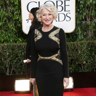 Helen Mirren in 70th Annual Golden Globe Awards - Arrivals