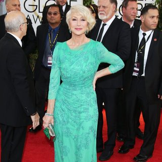 Helen Mirren in 71st Annual Golden Globe Awards - Arrivals