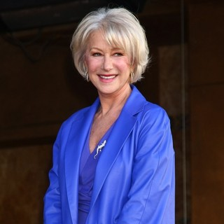 Helen Mirren in Helen Mirren Honored with A Star on The Hollywood Walk of Fame