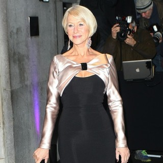 Helen Mirren in London Evening Standard Theatre Awards - Arrivals