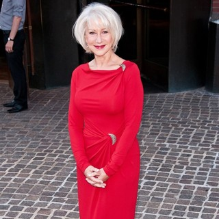 Helen Mirren in Special Screening of The Debt - Outside Arrivals