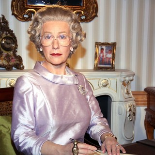 Helen Mirren in Helen Mirren Wax Figure is Unveiled