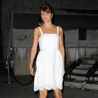 Helena Christensen in 2012 Tribeca Film Festival Vanity Fair Party