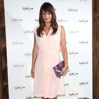 Helena Christensen in Helena Christensen and Kipling X Launch Their Collaborative Bag Collection