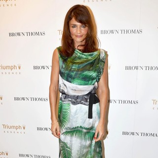 Helena Christensen in Helena Christensen Launches The Luxury Lingerie Brand Triumph Essence Collection Spring Summer 2012