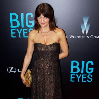 Helena Christensen in New York Premiere of Big Eyes - Red Carpet Arrivals