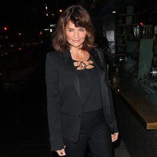 Helena Christensen in Warm Bodies Premiere