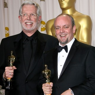 J. Roy Helland, Mark Coulier in 84th Annual Academy Awards - Press Room