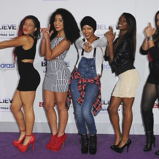 Hello Girls, Meagan Good in Open Road Films Justin Bieber's Believe Memoir and Concert Film Presented by Teen Vogue
