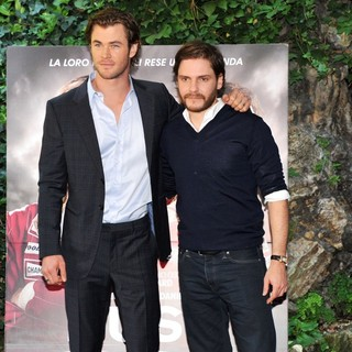 Chris Hemsworth, Daniel Bruhl in Rush Photocall