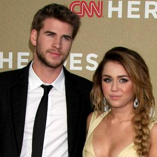 Liam Hemsworth, Miley Cyrus in 2011 CNN Heroes: An All-Star Tribute