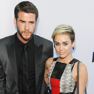 Liam Hemsworth, Miley Cyrus in RELATIVITY MEDIA Presents The US Premiere of Paranoia