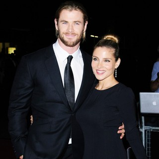 Chris Hemsworth, Elsa Pataky in The GQ Men of The Year Awards 2012 - Arrivals