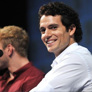 Henry Cavill in Comic Con 2011 - Celebrities at The Convention Centre - The Immortals Panel